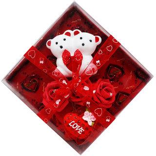 Muren's I LOVE U valentine teddy gift set(MUREN-000002051)