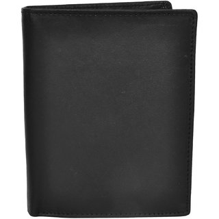 Chandair Pure Leather Black Mens Wallet (W-7002)