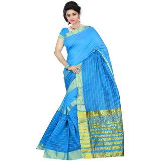 Aksh Fashion Multicolor  Cotton,Art Silk Self Design With Blouse