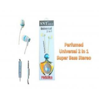 perfume Master Handsfree Earphones With Mic For Gifted Frends Earphone