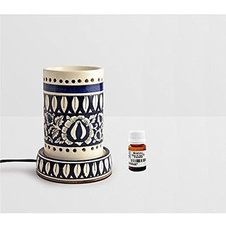 Brahmz Aroma Oil Diffuser - Ceramic - Painted Pipe - Painted - Vanilla