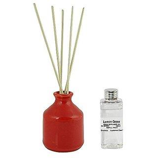 Brahmz Reed Diffuser Set - Lemon Grass - RDFR-11