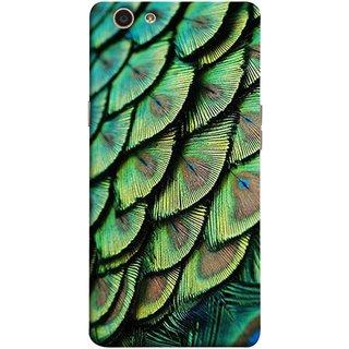 FUSON Designer Back Case Cover for Oppo F1s (Colourful Psychee Vibrant Colors Modern Art Silk Paintings )