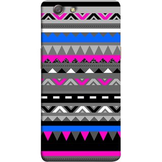 FUSON Designer Back Case Cover for Oppo Neo 5 :: Oppo A31 :: Oppo Neo 5S 2015 (Tribal Patterns Colourful Eye Catching Verity Different )