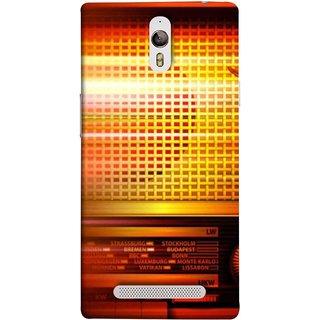 FUSON Designer Back Case Cover for Oppo Find 7 :: Oppo Find 7 QHD :: Oppo Find 7a :: Oppo Find 7 FullHD :: Oppo Find 7 FHD (Blur Music Background With Retro Radio Antique )