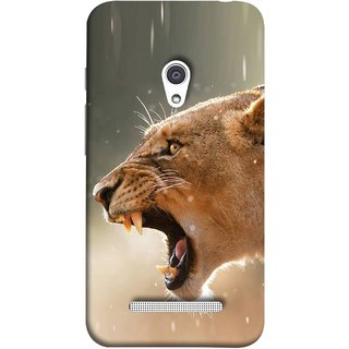 FUSON Designer Back Case Cover For Asus Zenfone 5 A501CG (Tiger Lion Chitta Angrily Looking Killer Hunter Shikari)