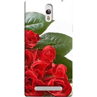 FUSON Designer Back Case Cover for Oppo Find 7 :: Oppo Find 7 QHD :: Oppo Find 7a :: Oppo Find 7 FullHD :: Oppo Find 7 FHD (Close Up Red Roses Chocolate Hearts For Valentines Day)