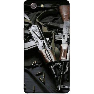 FUSON Designer Back Case Cover for Oppo Neo 5 :: Oppo A31 :: Oppo Neo 5S 2015 (Ammunition Bullets Guns Machine Murders War )