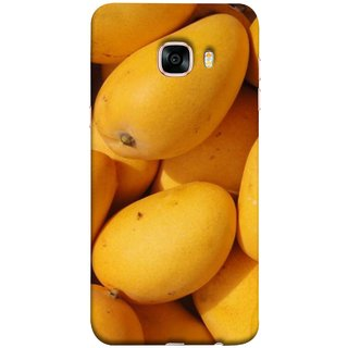 FUSON Designer Back Case Cover for Samsung Galaxy C5 SM-C5000 (Jungle Sweet Villages Fruits Hapoos Langda )