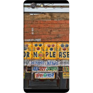 FUSON Designer Back Case Cover for Oppo Neo 5 :: Oppo A31 :: Oppo Neo 5S 2015 (Decorated Goods Carrier On Indian Road Stop Dil Tera)