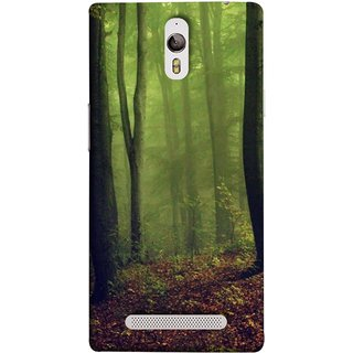 FUSON Designer Back Case Cover for Oppo Find 7 :: Oppo Find 7 QHD :: Oppo Find 7a :: Oppo Find 7 FullHD :: Oppo Find 7 FHD (Tropical And Subtropical Coniferous Forests Wallpaper)