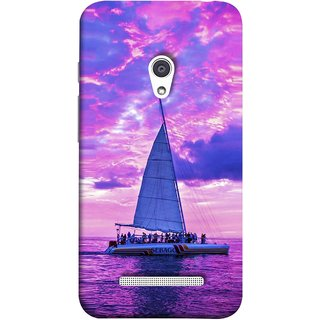 FUSON Designer Back Case Cover For Asus Zenfone 5 A501CG (Country World Asia Africa Cruise Wallpaper Painting)