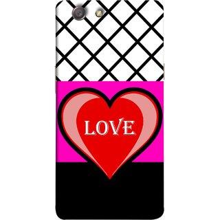 FUSON Designer Back Case Cover for Oppo Neo 5 :: Oppo A31 :: Oppo Neo 5S 2015 (Pink Red Wallpapers Flowers Lovers Boyfriends Black)