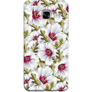 FUSON Designer Back Case Cover for Samsung Galaxy C5 SM-C5000 (Floral Patterns Digital Textiles Florals Design Patterns)
