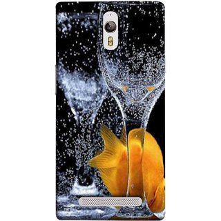 FUSON Designer Back Case Cover for Oppo Find 7 :: Oppo Find 7 QHD :: Oppo Find 7a :: Oppo Find 7 FullHD :: Oppo Find 7 FHD (3D Water Splash Illustration Fuzzy Bubbles Unique)