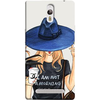 FUSON Designer Back Case Cover for Oppo Find 7 :: Oppo Find 7 QHD :: Oppo Find 7a :: Oppo Find 7 FullHD :: Oppo Find 7 FHD (Retro Fashion.Summer Hat With Large Brim Coffee Cup)