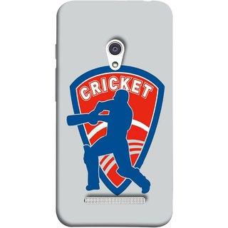 FUSON Designer Back Case Cover For Asus Zenfone 5 A501CG (County Cricket India Aus England Bat Ball Batsman)