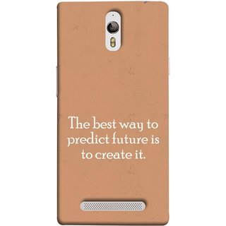 FUSON Designer Back Case Cover for Oppo Find 7 :: Oppo Find 7 QHD :: Oppo Find 7a :: Oppo Find 7 FullHD :: Oppo Find 7 FHD (Yourself Motivational Inspirational Saying Quotes)