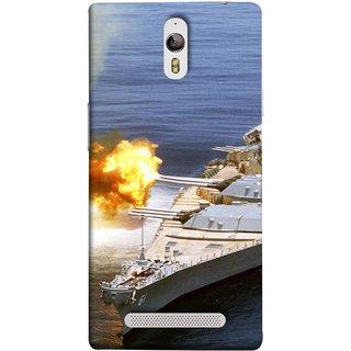 FUSON Designer Back Case Cover for Oppo Find 7 :: Oppo Find 7 QHD :: Oppo Find 7a :: Oppo Find 7 FullHD :: Oppo Find 7 FHD (Ocean Missile Destroyers Ins Delhi Modern Warships)