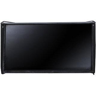 Glassiano LED/LCD PVC Cover For Vu (55 inches) TL55C1CUS 4K UHD LED Smart TV (Black)