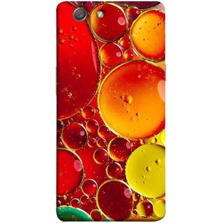 FUSON Designer Back Case Cover for Oppo Neo 5 :: Oppo A31 :: Oppo Neo 5S 2015 (Watercolor Colorful Holiday Sketch Oil Painting )