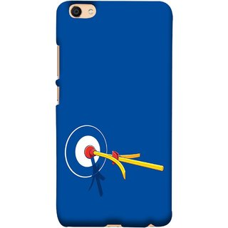 FUSON Designer Back Case Cover For VIVO Y66 (Archery Targets Compound Bow And Arrow)