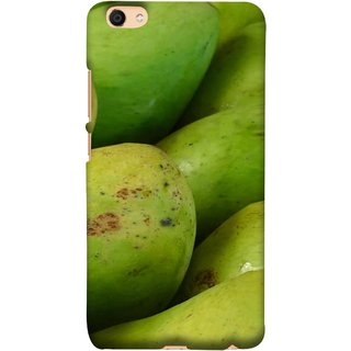 FUSON Designer Back Case Cover For VIVO Y66 (Jungle Sweet Villages Fruits Hapoos Langda )