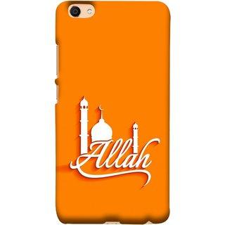 FUSON Designer Back Case Cover For VIVO Y66 (Allah One Theme Makka Madina Muslim Haj )