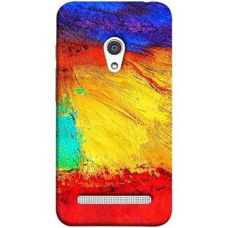 FUSON Designer Back Case Cover For Asus Zenfone 6 A600CG (Colour Canvas For Hall Bedroom Painting Intresting Lot)