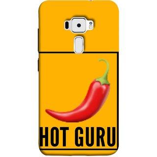 FUSON Designer Back Case Cover For Asus Zenfone 3 ZE520KL (5.2 Inches) (Radio Mirchi Show Hot Love Guru Teacher Mantra)