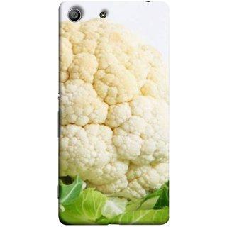 FUSON Designer Back Case Cover For Sony Xperia Z3 :: Sony Xperia Z3 Dual D6603 :: Sony Xperia Z3 D6633 (Organic Cauliflower Background Table Farmer Subji)