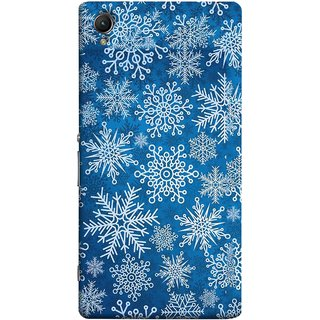 FUSON Designer Back Case Cover For Sony Xperia Z5 Premium :: Sony Xperia Z5 4K Premium Dual (Different Size Winter Snow Enjoying Pattern World)