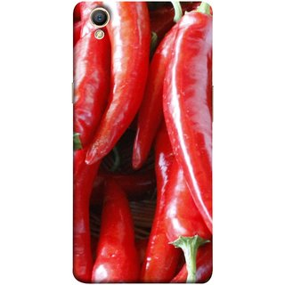 FUSON Designer Back Case Cover for Oppo A37 (India Business Hot Sauces Farm Fresh Pickles Kitchen)