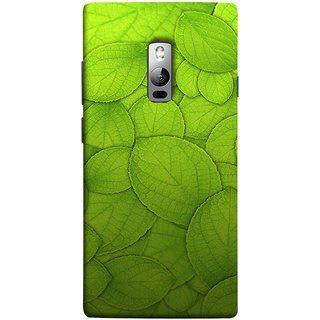 FUSON Designer Back Case Cover for OnePlus 2 :: OnePlus Two :: One Plus 2 (Leaf On Water Ajwain Leaves Beautiful Nice )
