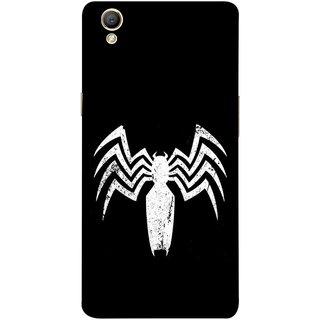 FUSON Designer Back Case Cover for Oppo A37 (Spiderman Logo Catwoman Dc Comics Parker)