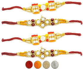 Assorted Rakhi (Set of 4)