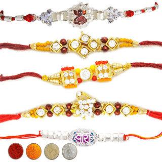 Assorted Rakhi (Set of 5)