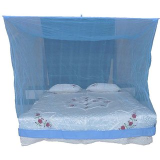 BcH DOUBLE BED MOSQUIT NET (BLUE)