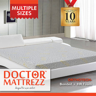 Dr.Mattrezz Orthotech King Mattress (78x72x6 inch)