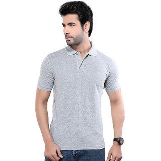 KETEX designs Grey Polo T Shirt