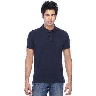 KETEX designs Navy  Half Sleeves Polo Tshirt