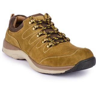 Action MenS Khaki Lace-Up Boots
