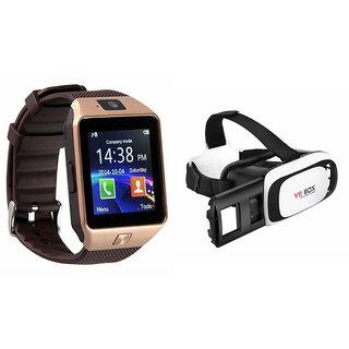 c7901beff42c05 Mirza DZ09 Smart Watch and VR Box for HTC DESIRE 500(DZ09 Smart Watch With