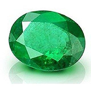 Ratna Gemstone Emerald Stone (Panna)   6.50  Carat Certified Natural Rashi Ratan Gemstone