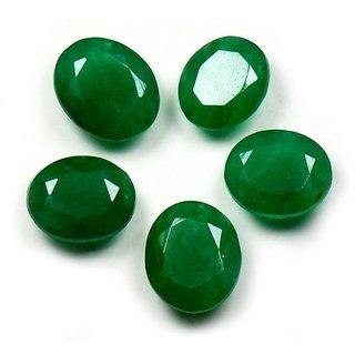 Ratna Gemstone Emerald Stone (Panna)   4.50  Carat Certified Natural Rashi Ratan Gemstone