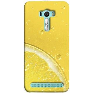 FUSON Designer Back Case Cover For Asus Zenfone Selfie ZD551KL (Farm Fresh Fruits Lemons Fresh Juicy Beer Pitcher )