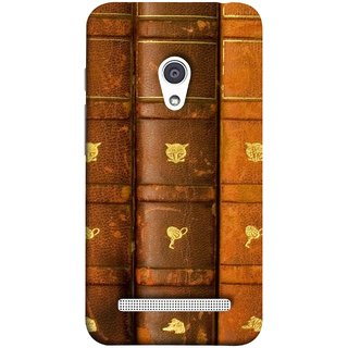FUSON Designer Back Case Cover For Asus Zenfone 6 A600CG (Law Book Library Bookshelf Knowledge Reading Always)