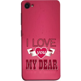 FUSON Designer Back Case Cover For Lenovo Zuk Z2 Plus (Pyar Hai Tumse Heart Pink Red True )