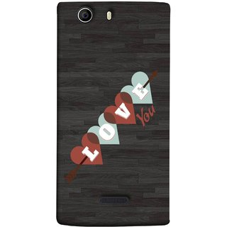 FUSON Designer Back Case Cover for Micromax Canvas Nitro 2 E311 (Grey Plywood Sunmica Best Perfect Wow Pyar Prem)