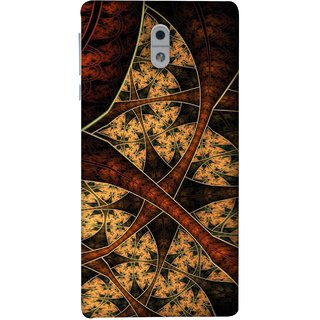 FUSON Designer Back Case Cover For Nokia 3 (Colour Canvas For Hall Bedroom Painting Intresting)